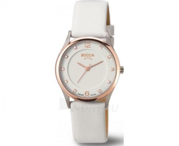 Moteriškas laikrodis Boccia Titanium 3227-06 Paveikslėlis 1 iš 1 30069501843