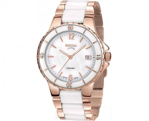 Moteriškas laikrodis Boccia Titanium Ceramic 3215-03 Paveikslėlis 1 iš 1 30069501245