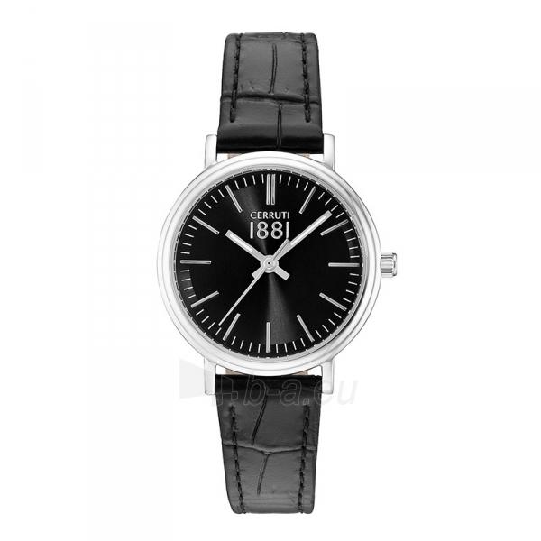 Moteriškas laikrodis Cerruti 1881 CRM111SN02BK Paveikslėlis 1 iš 1 30069506715