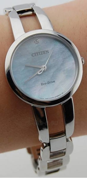 Moteriškas laikrodis Citizen Eco-Drive Elegance EM0430-85N Paveikslėlis 3 iš 3 310820112138