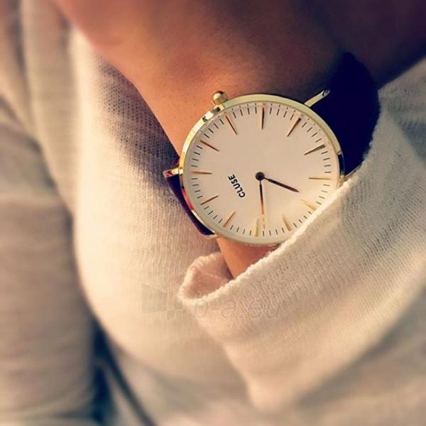 Moteriškas laikrodis Cluse La Bohème Gold White/Black Paveikslėlis 5 iš 7 310820116567