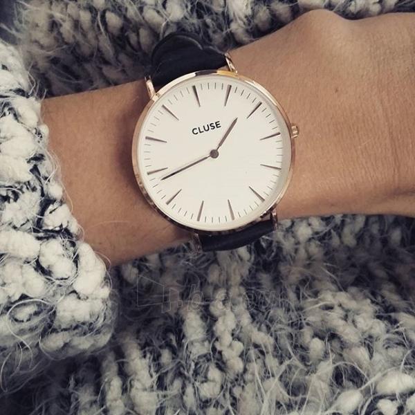Moteriškas laikrodis Cluse La Bohème Gold White/Black Paveikslėlis 6 iš 7 310820116567