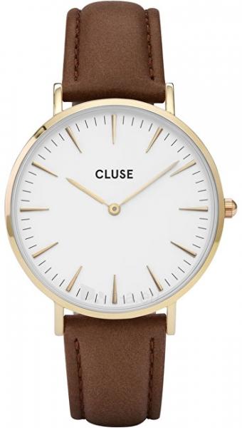 Moteriškas laikrodis Cluse La Bohème Gold White/Brown Paveikslėlis 1 iš 7 310820116568