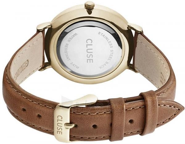 Moteriškas laikrodis Cluse La Bohème Gold White/Brown Paveikslėlis 2 iš 7 310820116568