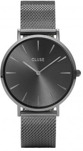 Moteriškas laikrodis Cluse La Bohème Mesh Dark Grey CL18121 Paveikslėlis 1 iš 5 310820155844