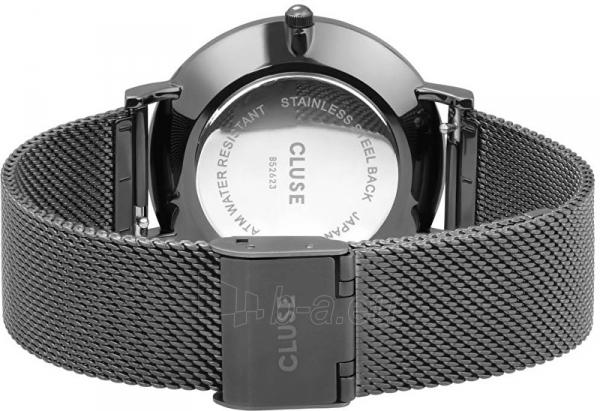 Moteriškas laikrodis Cluse La Bohème Mesh Dark Grey CL18121 Paveikslėlis 4 iš 5 310820155844