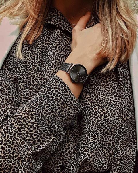 Moteriškas laikrodis Cluse La Bohème Mesh Dark Grey CL18121 Paveikslėlis 5 iš 5 310820155844