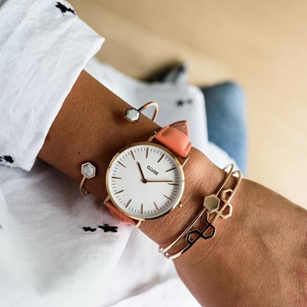 Moteriškas laikrodis Cluse La Bohème Rose Gold White/Flamingo CL18032 Paveikslėlis 4 iš 6 310820155711