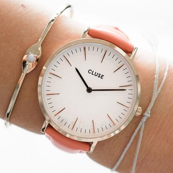 Moteriškas laikrodis Cluse La Bohème Rose Gold White/Flamingo CL18032 Paveikslėlis 5 iš 6 310820155711