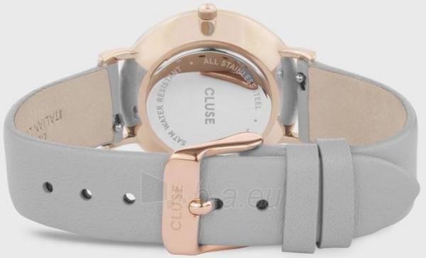 Sieviešu pulkstenis Cluse Le Couronnement Rose Gold White/Soft Grey CL63001 Paveikslėlis 2 iš 3 310820178881