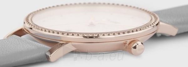 Sieviešu pulkstenis Cluse Le Couronnement Rose Gold White/Soft Grey CL63001 Paveikslėlis 3 iš 3 310820178881