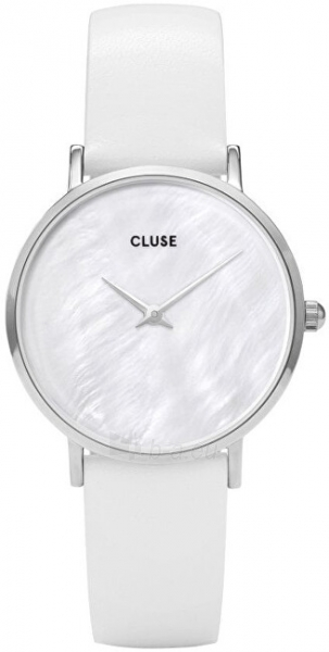 Sieviešu pulkstenis Cluse Minuit La Perle Silver White Pearl/White CL30060 Paveikslėlis 1 iš 6 310820178879