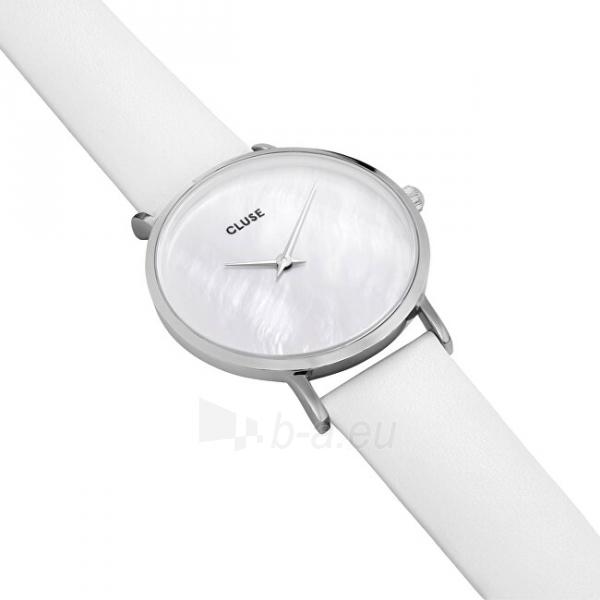 Sieviešu pulkstenis Cluse Minuit La Perle Silver White Pearl/White CL30060 Paveikslėlis 5 iš 6 310820178879