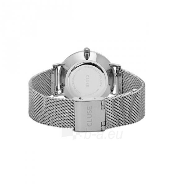 Moteriškas laikrodis Cluse Minuit Mesh Silver/White Paveikslėlis 2 iš 9 310820116547