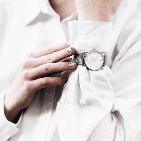 Moteriškas laikrodis Cluse Minuit Mesh Silver/White Paveikslėlis 8 iš 9 310820116547