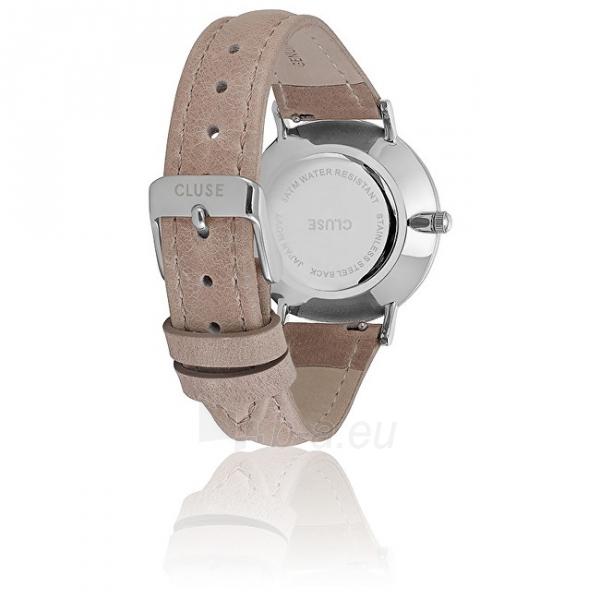 Moteriškas laikrodis Cluse Minuit Silver White/Hazelnut CL30044 Paveikslėlis 2 iš 6 310820153599