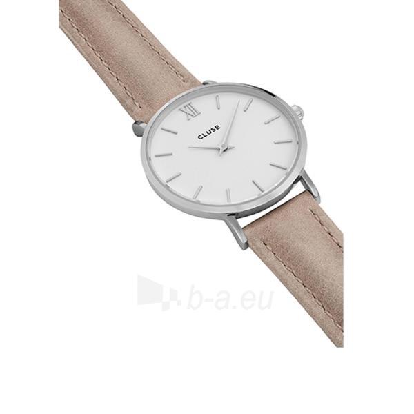 Moteriškas laikrodis Cluse Minuit Silver White/Hazelnut CL30044 Paveikslėlis 3 iš 6 310820153599