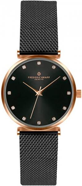 Sieviešu pulkstenis Frederic Graff Batura Star Black Mesh FCB-3318 Paveikslėlis 1 iš 4 310820194154