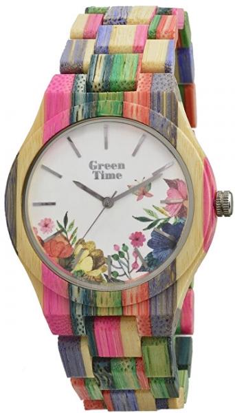 Sieviešu pulkstenis Green Time FlowerZW068B Paveikslėlis 1 iš 1 310820178900