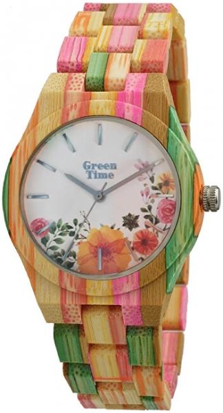 Sieviešu pulkstenis Green Time FlowerZW069B Paveikslėlis 1 iš 1 310820178901