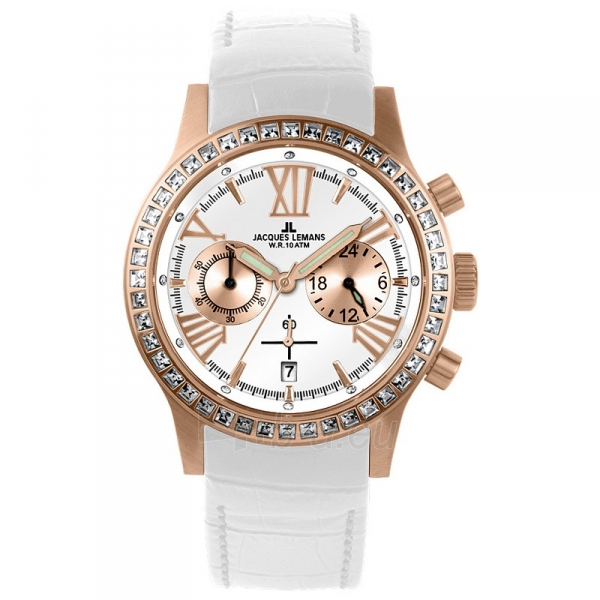 Moteriškas laikrodis Jacques Lemans 1-1527D Paveikslėlis 1 iš 6 30069507115