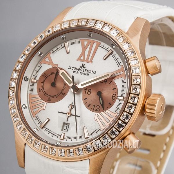 Moteriškas laikrodis Jacques Lemans 1-1527D Paveikslėlis 4 iš 6 30069507115
