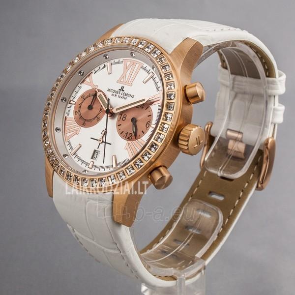 Moteriškas laikrodis Jacques Lemans 1-1527D Paveikslėlis 5 iš 6 30069507115