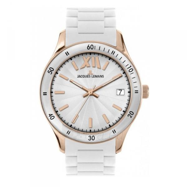 Moteriškas laikrodis Jacques Lemans 1-1622R Paveikslėlis 1 iš 1 30069509359