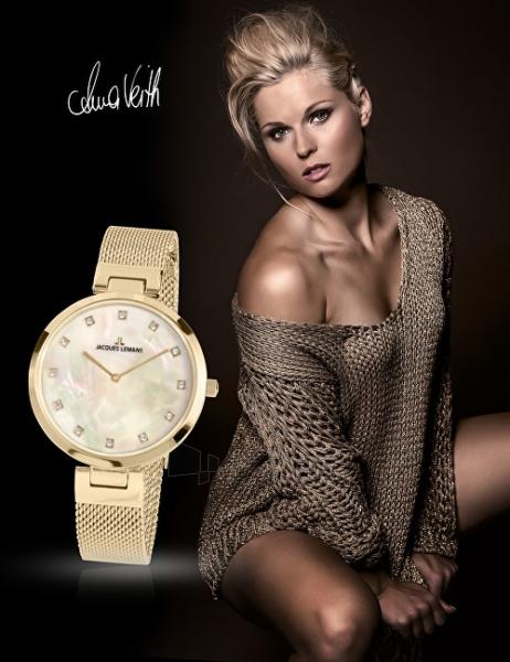 Moteriškas laikrodis Jacques Lemans Milano 1-2001G Paveikslėlis 2 iš 3 310820151894