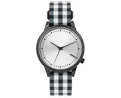 Moteriškas laikrodis Komono EstelleVichy Black KOM-W2853 Paveikslėlis 1 iš 3 310820027839