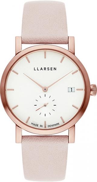 Sieviešu pulkstenis LLARSEN Helena 137RWR3-RPOWDER18 Paveikslėlis 1 iš 1 310820194214
