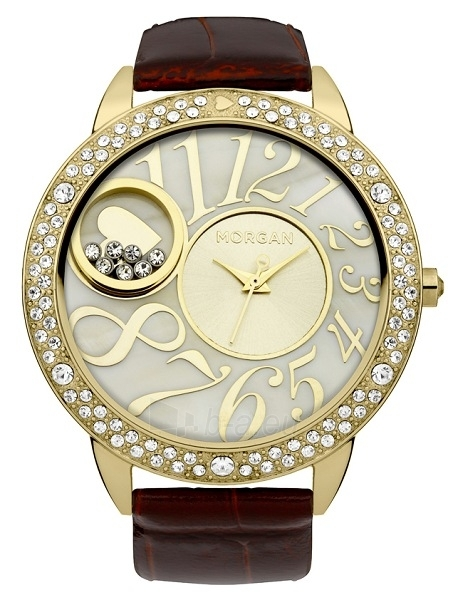 Moteriškas laikrodis MORGAN  M1169TG Paveikslėlis 1 iš 1 30069508981