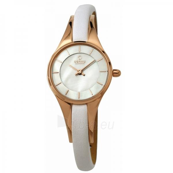 Moteriškas laikrodis OBAKU OB V110LVWRW Paveikslėlis 1 iš 1 30069509438