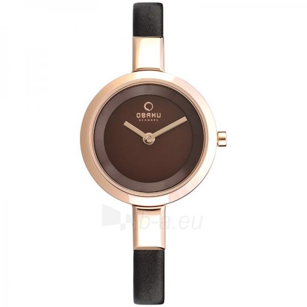 Moteriškas laikrodis OBAKU OB V129LXVNRN Paveikslėlis 1 iš 1 30069509454