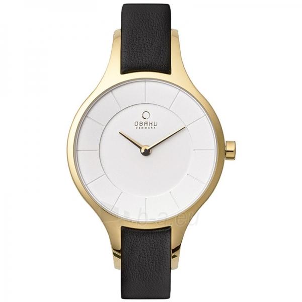 Moteriškas laikrodis OBAKU OB V165LXGIRB Paveikslėlis 1 iš 1 30069509503