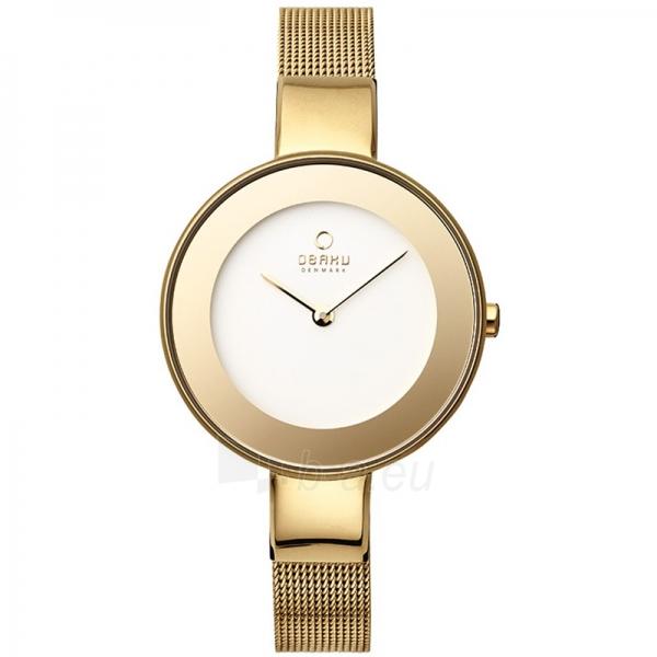 Moteriškas laikrodis OBAKU OB V167LXGIMG Paveikslėlis 1 iš 1 30069509508