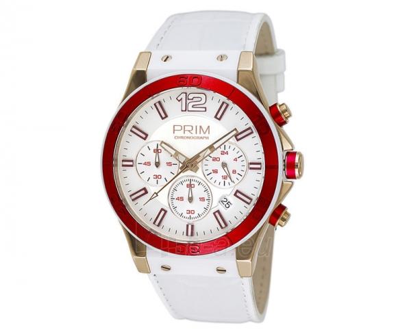 Moteriškas laikrodis Prim Chronograph W03P.13007.D Paveikslėlis 1 iš 1 30069509133