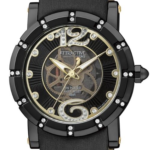 Moteriškas laikrodis Q&Q  ATTRACTIVE DA63J502Y Paveikslėlis 2 iš 2 30069505986