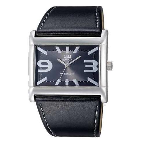 Moteriškas laikrodis Q&Q VX45J302Y Moteriškas stilingas odiniu dirželiu Paveikslėlis 1 iš 1 30069508226