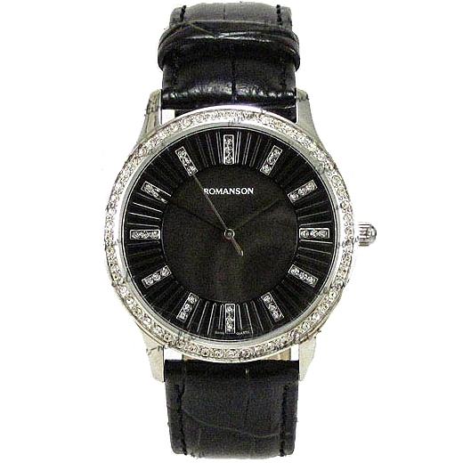 Moteriškas laikrodis Romanson RL0384T LW BK Paveikslėlis 1 iš 4 30069508370