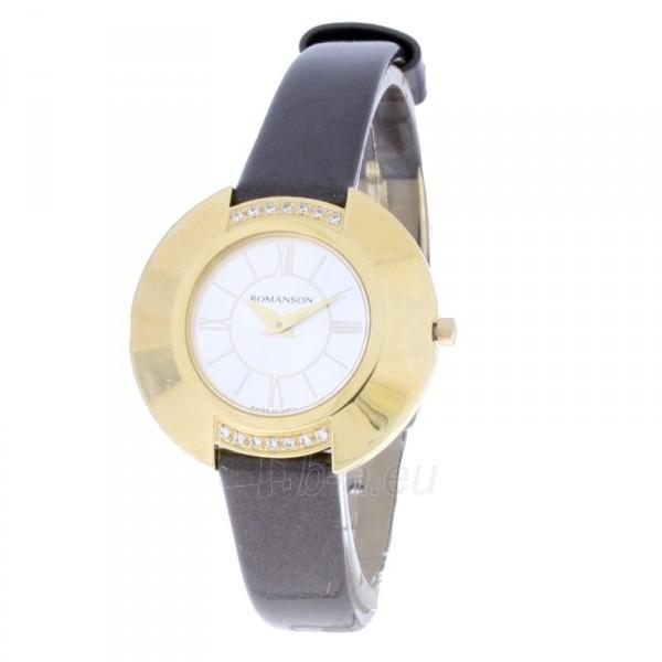 Moteriškas laikrodis Romanson RL1267 QL GWH Paveikslėlis 1 iš 7 30069508372