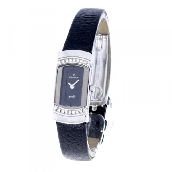 Moteriškas laikrodis Romanson RL4115Q LW BK Paveikslėlis 1 iš 8 30069508377