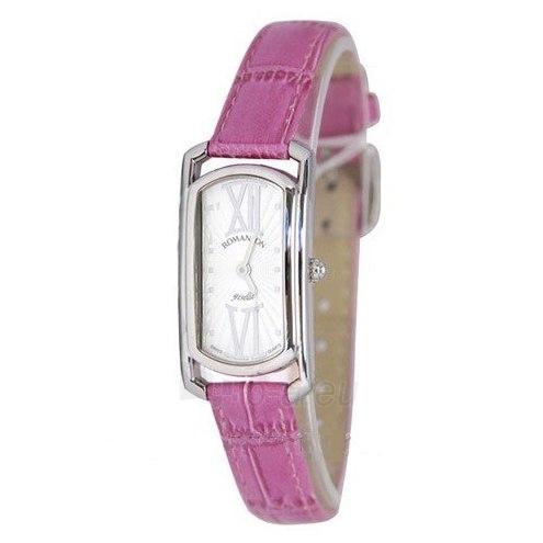 Moteriškas laikrodis Romanson RL7281 LW WH PINK Paveikslėlis 1 iš 2 30069508391