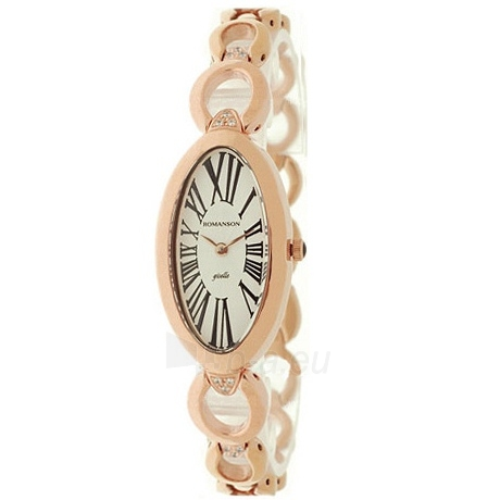 Moteriškas laikrodis Romanson RM0348 LR WH Paveikslėlis 1 iš 2 30069508399