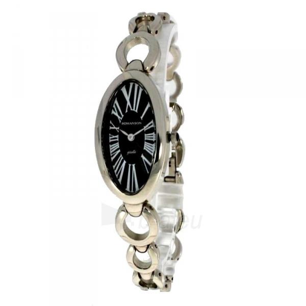 Moteriškas laikrodis Romanson RM0348 LW BK Paveikslėlis 2 iš 2 30069509634