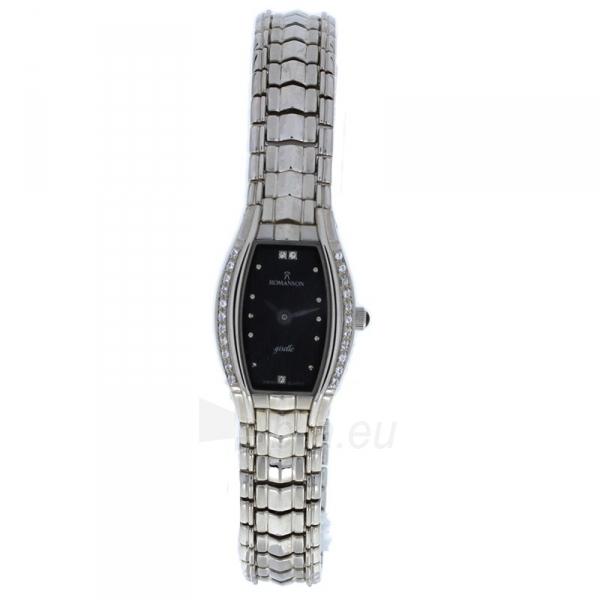 Moteriškas laikrodis Romanson RM2508Q LW BK Paveikslėlis 1 iš 2 30069509638