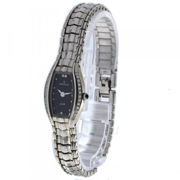 Moteriškas laikrodis Romanson RM2508Q LW BK Paveikslėlis 2 iš 2 30069509638
