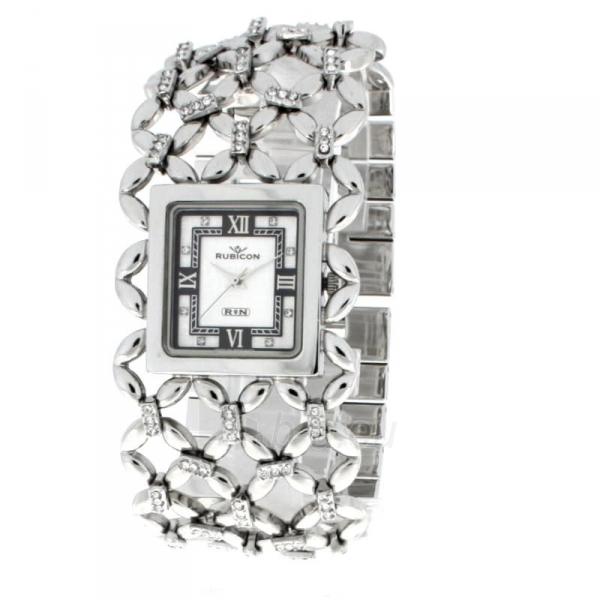 Moteriškas laikrodis RUBICON RN10B14LSWH Paveikslėlis 2 iš 16 310820086348