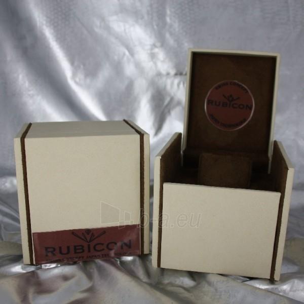 Moteriškas laikrodis RUBICON RN10B22 LS WH BK Paveikslėlis 2 iš 8 30069508411