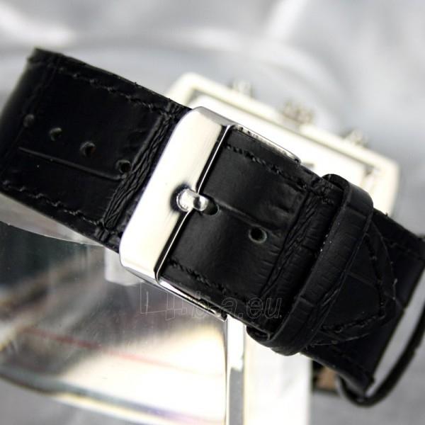 Moteriškas laikrodis RUBICON RN10B22 LS WH BK Paveikslėlis 6 iš 8 30069508411